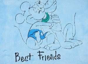 Disney Mickey wellsoft pamut Babatakaró 75x100cm  kék 1994003353