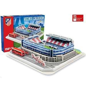 GP: Atletico Madrid Vicente Calderon Stadion 3D Puzzle 156db 30479688 3D puzzle