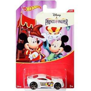 Hot Wheels - Disney Mickey Prince Pauper Kisautó 30490351 Mickey Autós játékok, autó, jármű