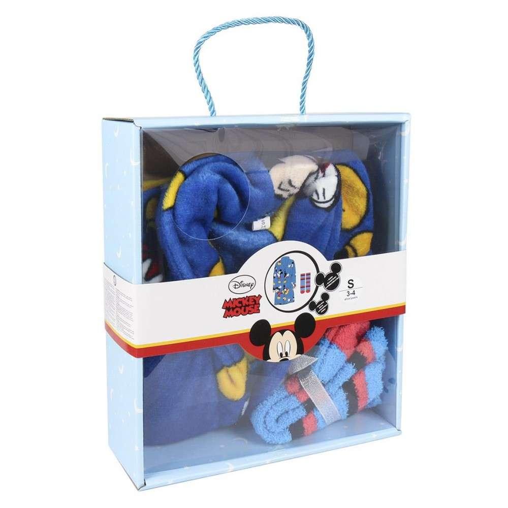 Disney Mickey dobozos wellsoft Köntös+zokni szett  5038d22f3a