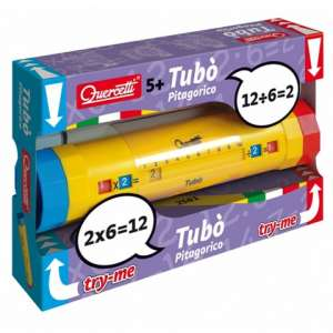 Quercetti: Tubó hengeres szorzótábla játék 30483754 Fejlesztő játék iskolásoknak