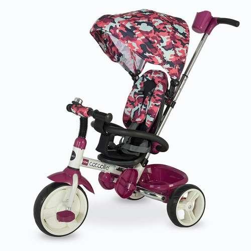 Coccolle Urbio Tricikli - Terepmintás #lila