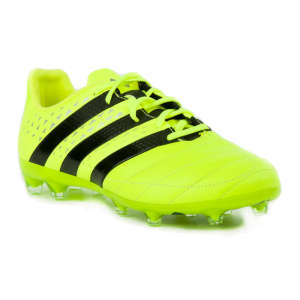 Adidas Ace 16.2 FG Leather Férfi Foci Cipő  neon-fekete 456176fdfb