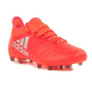 Adidas X16.2 FG Leather Férfi Foci Cipő  narancs-ezüst 56aca2ae22