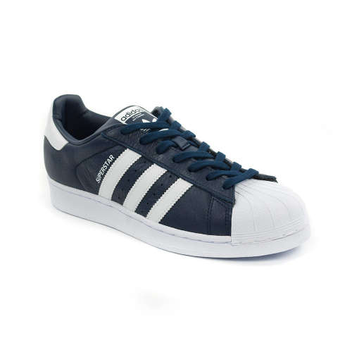 Adidas Superstar Férfi Utcai Cipő  sötétkék-fehér 45 1 3  e4e8331896