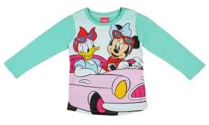 Disney Minnie és Daisy mintás lányka hosszú ujjú póló 30492542