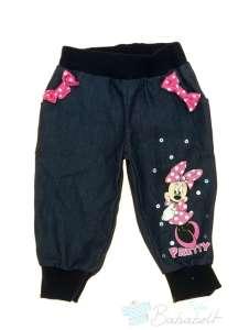 Disney Minnie baba, kisgyerek vékony farmernadrág (méret:68-98) 30494745