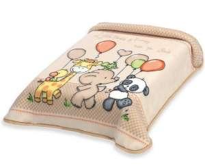 Belpla Baby perla ster Pléd 80x110cm - Állatos #bézs 30495276 Pléd, takaró