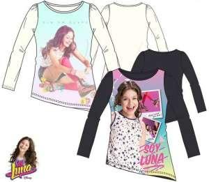 Gyerek póló, felső Disney Soy Luna fehér 30495330