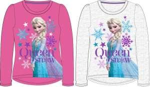 Gyerek hosszú póló, felső Disney Frozen, Jégvarázs szürke 30495331