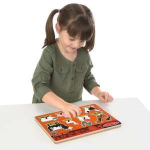 Melissa & Doug Hangos puzzle, Farm állatai 30495739