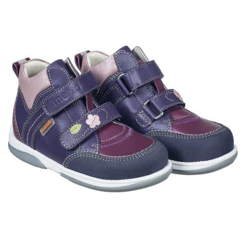 Memo Polo Junior supinált lány Utcai Cipő #lila-kék (22-31)