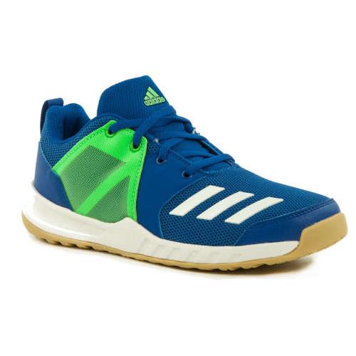 Adidas FortaGym K Junior Fiú Teremcipő  kék-zöld  ed319408b6