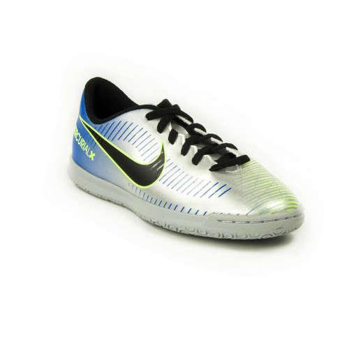 Nike Mercurial JR Vortex 3 IC Gyerek Teremcipő  ezüst-fekete  d30cd548fb