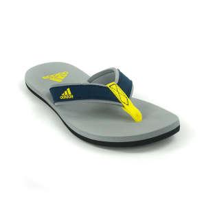 Adidas Beach Thong K Fiú Papucs #szürke-kék-sárga  30496966