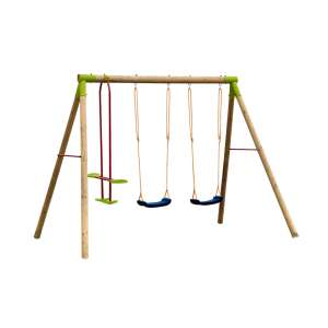 Alco háromüléses kerti Hinta #kék-zöld 30497522