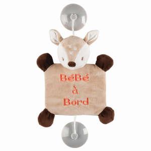 Nattou plüss  30497559 Baby on board jelzés