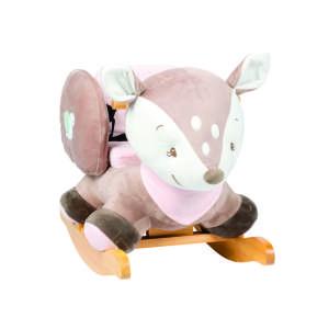 Nattou Hintázó állatka - Fanny Őzike #bézs-kék 30497562 Hintaló, hintázó állatka