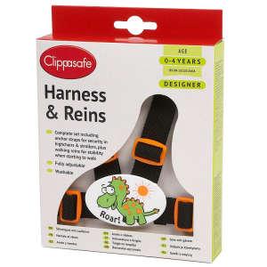 Clippasafe Ülésrögzítő és kantár #fekete-narancssárga 30497628