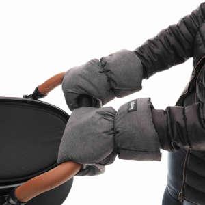 Zopa téli Kesztyű babakocsira #szürke 30501035 Babakocsi kézmelegítő