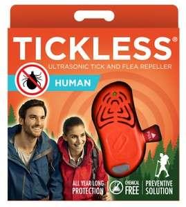 Tickless ultrahangos Kullancsriasztó felnőttek számára #narancs 31304567 Rovarriasztó, csípés kezelő