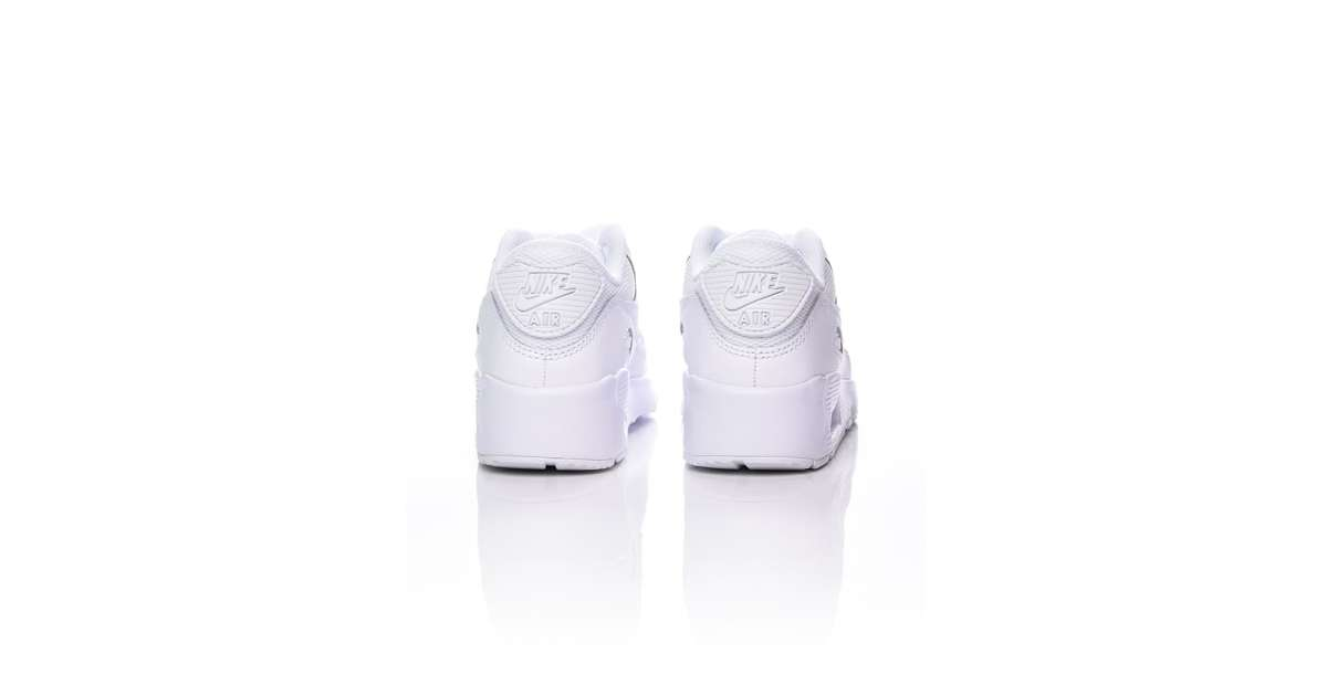Nike Lifestyle Shoes Best Price,Air Max 90 Mesh Boys White