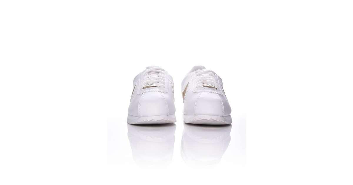 Nike Cortez Basic Sl Gs Gyerek Sportcipő #Fehér Arany | Pepita.hu