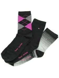 TommyHilfiger GIFTBOX  3 PÁR 30677983 Női zokni