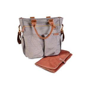Cangaroo Bella Pelenkázó táska #szürke-barna