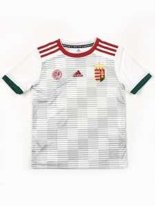 Adidas Performance Hungary Away Jsy J gyerek Focimez #fehér 30658956 Gyerek focimez