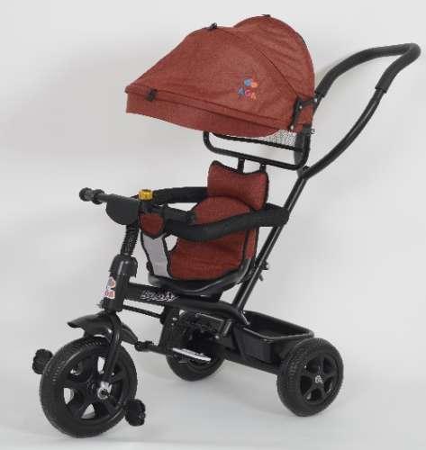 AGA Sport Prémium Tricikli tolókarral #piros 30706728