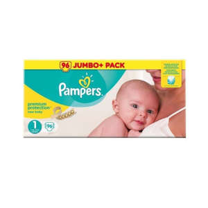 Pampers Premium Protection New Baby 1 Pelenka 96db 30630222 Pelenka