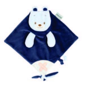 Nattou Szundikendő - Maci #kék-fehér