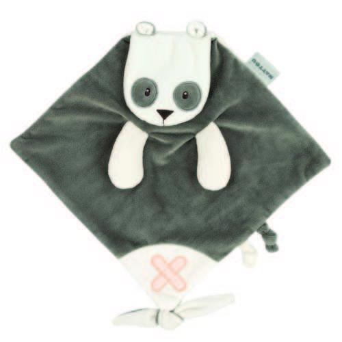 Nattou Szundikendő - Panda #szürke 30630278