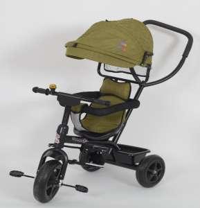 AGA Sport Prémium Tricikli tolókarral #zöld 30706703