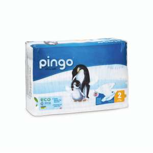 Pingo ökológiai eldobható pelenka Mini 2, 3-6 kg, 42 db 30631562 Pingo Pelenka