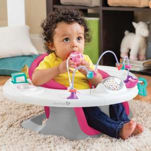 Summer Infant Super Seat 4 in1 pink -etetőszék  30632148 Etetőszék