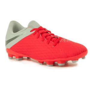 Nike Hypervenom Fg Gs Junior gyerek Stoplis cipő #piros-szürke 31247709 Gyerekcipő sportoláshoz