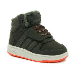 Adidas Hoops Mid Baby Fiú Sportcipő 31245957 Magasszárú gyerekcipő, bakancs