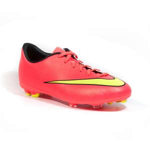 Nike Mercurial Victory Fg Jr gyerek Stoplis cipő #piros 30700396 Gyerekcipő sportoláshoz