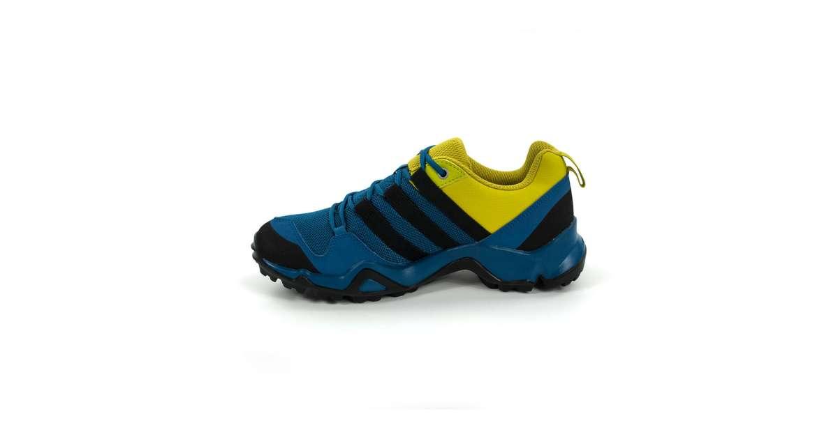 Adidas Terrex Ax2 R Cf K Junior fiú Terepfutó cipő #kék sárga