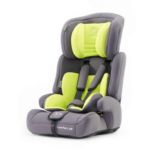 Kinderkraft Comfort Up PRO biztonsági Gyerekülés 9-36kg #szürke-zöld