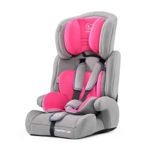 Kinderkraft Comfort Up PRO biztonsági Gyerekülés 9-36kg #szürke-rózsaszín 31273739 Levehető háttámlás Gyerekülés