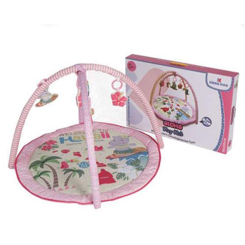 Kikka Boo Aloha Játszószőnyeg játékhíddal #rózsaszín 30706199