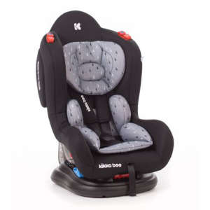 Kikka Boo Hood biztonsági Gyerekülés 0-25kg #fekete 30706258 Gyerekülés  / autósülés 0-25 kg