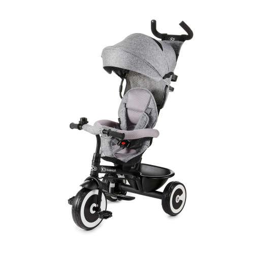 Kinderkraft Aston megfordítható Tricikli #szürke