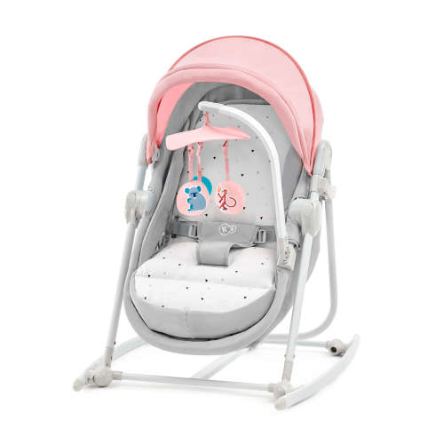 Kinderkraft Unimo 5in1 Pihenőszék #rózsaszín-szürke