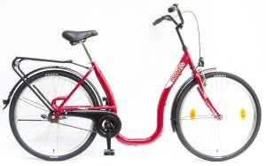 """Csepel Budapest C felnőtt Kerékpár 26"""" #piros"""
