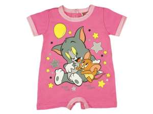 Rövid ujjú Napozó - Tom és Jerry #rózsaszín 30707460 Rugdalózó, napozó