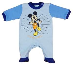 Disney hosszú ujjú Rugdalózó - Mickey Mouse #kék